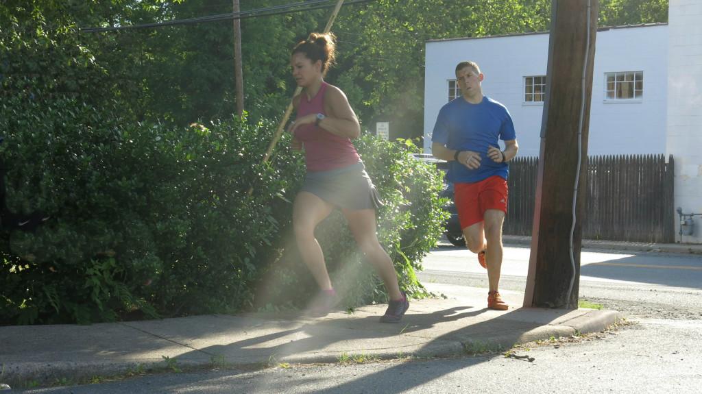 Hyam running