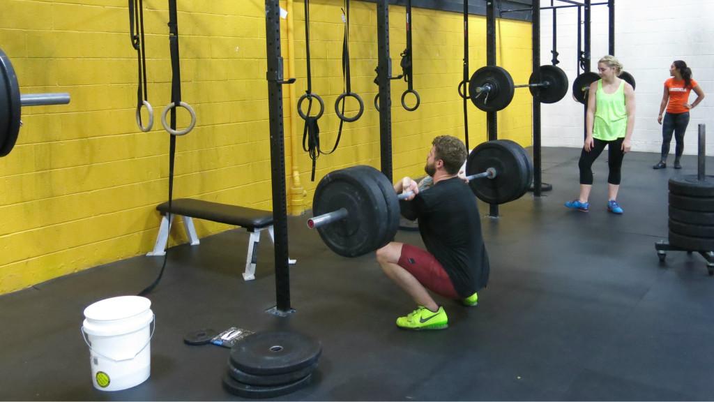 Aaron squat