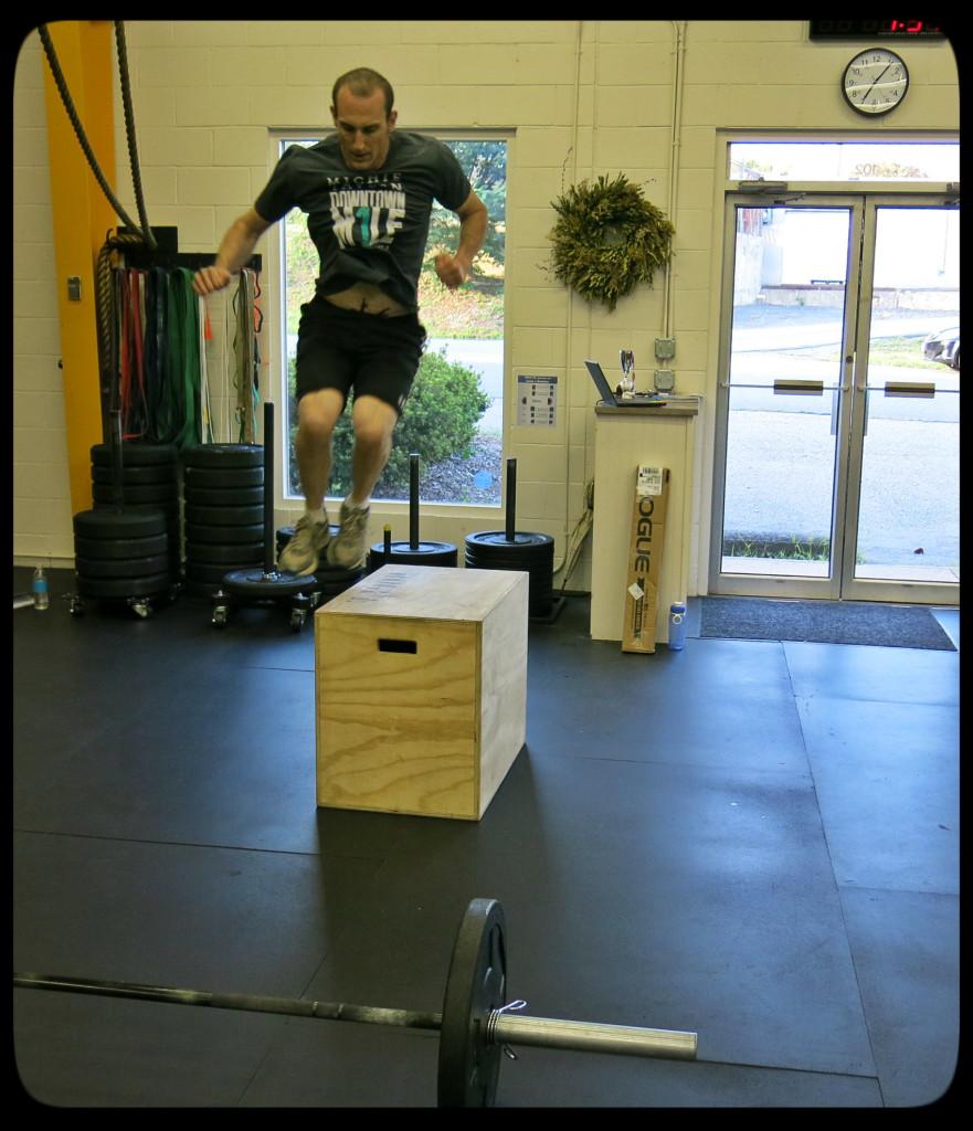 John Lateral Box Jump