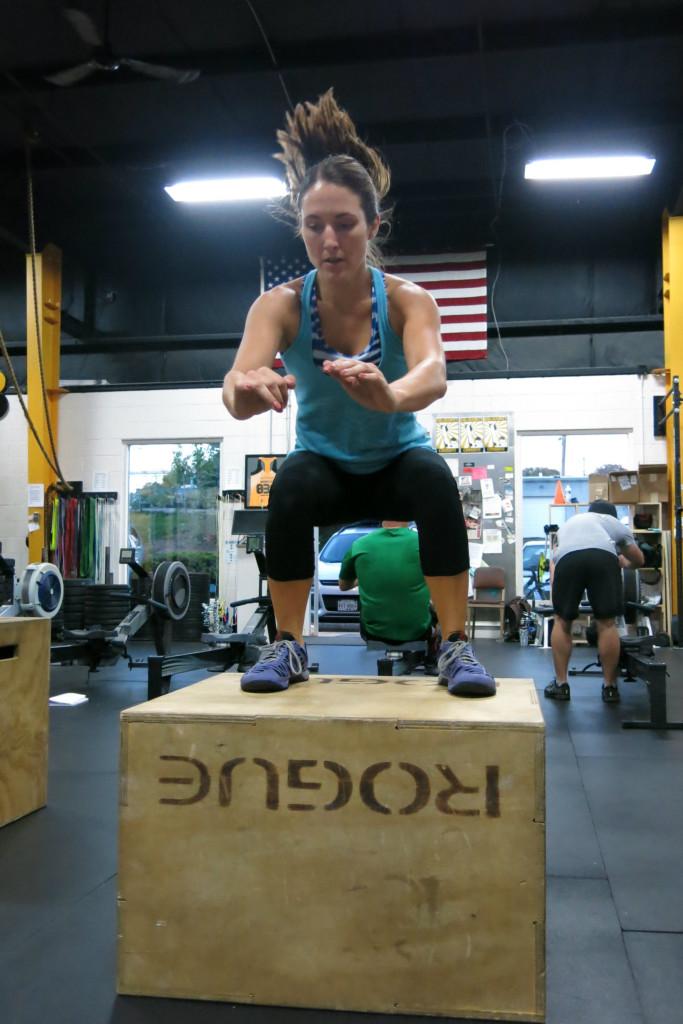 Mary box jump