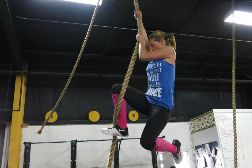 Jeri Rope Climb