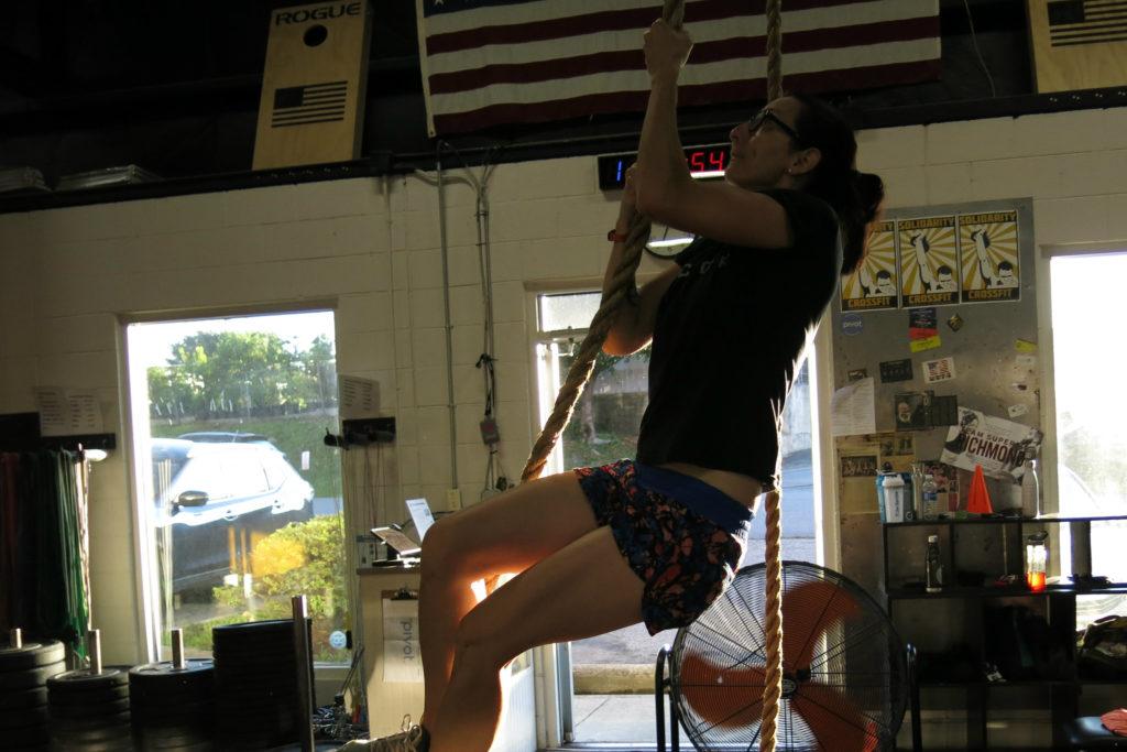 Lisa Rope CLimb