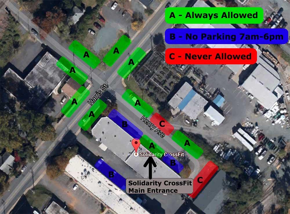 Solidarity Parking Map